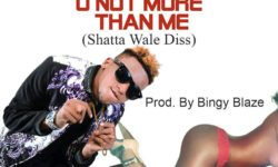 Download ARA-B – U Not More Than Me (ShattaWale Diss)